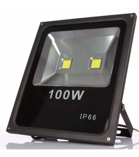 Reflector Led 100w 220v Alta Calidad Exterior Canchas Ip66
