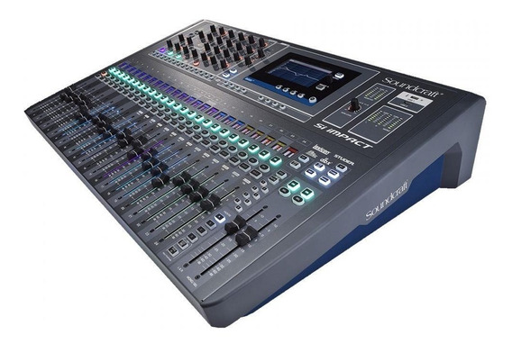 Mesa Digital Soundcraft Si Impact | 32 Canais | Nfe | Harman