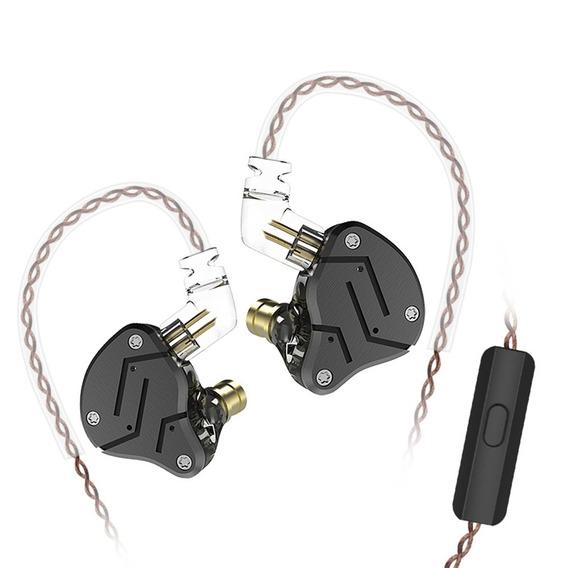 Kz Zsn 3,5 Milímetros Wired Em Orelha Fones De Ouvido W / Mi