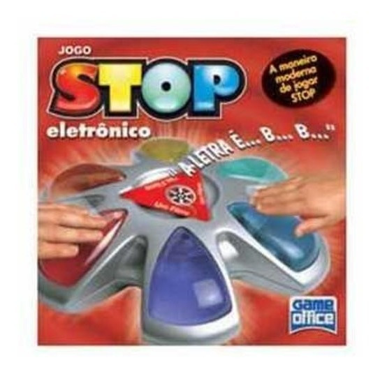 Raridade Jogo Stop Eletrônico - Game Office