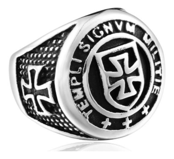 Anel - Cavaleiro Templário - Cavaleiros De Cristo Promoção!!