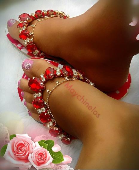 Sandalia Chinelo Havaianas Decorada Minnie