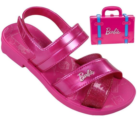 Sandália Infantil Grendene Barbie 22025 | Lojas Radan