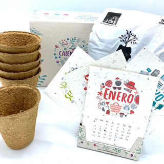 Kit Eco Calendario 2020 Plantable - Fundación Garrahan