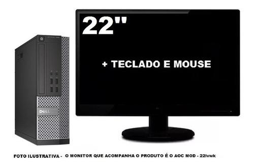 Imagem 1 de 5 de Dell Optiplex 7020 Mini Sff I5 4590 8gb 240ssd - Semi Novo
