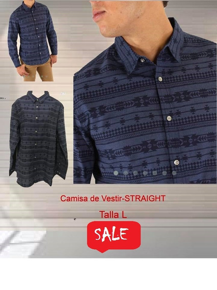 Camisa De Vestir Straight