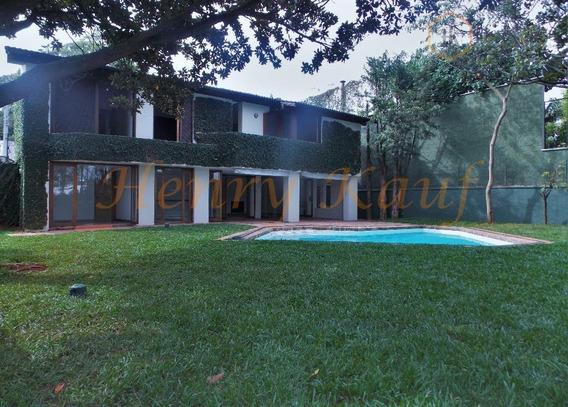 Casa Para Venda E Locação, Cidade Jardim, São Paulo. - Ca0045