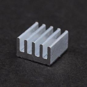 Kit 10 Peças Dissipador Calor Alumínio 08mm X 08mm X 05mm