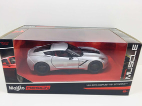 Miniatura Corvette Stingray 2014 Maisto Muscle 1/24