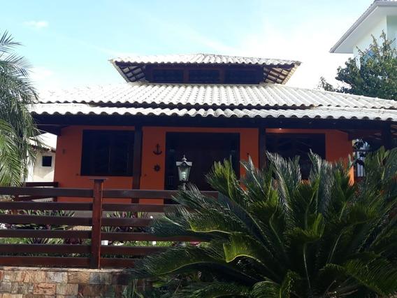 Casa Linear Com Piscina No Condomínio Solar - L077 - 34209873
