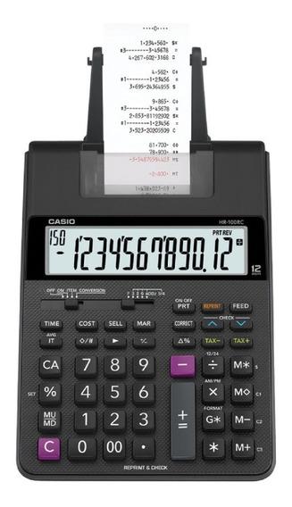 Calculadora Com Impressora Hr-100rc- Bivolt Casio