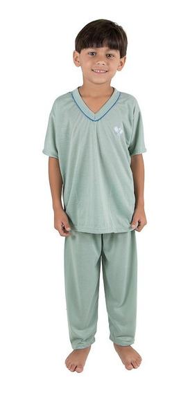 Kit 5 Pijama Infantil Masculino- Roupas De Menino Inverno