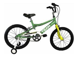 Bicicleta Stark Team Junior Varon Rodado 16 M6064 Tio Musa