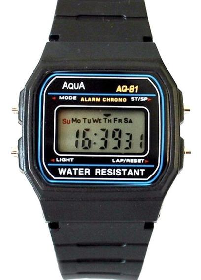 Kit 20 Relogios Aqua Original Prova Dagua Atacado