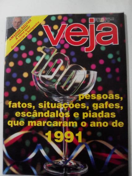 Revista Veja 1215 Retrospectiva 1991 L Sabatella Collor 1992