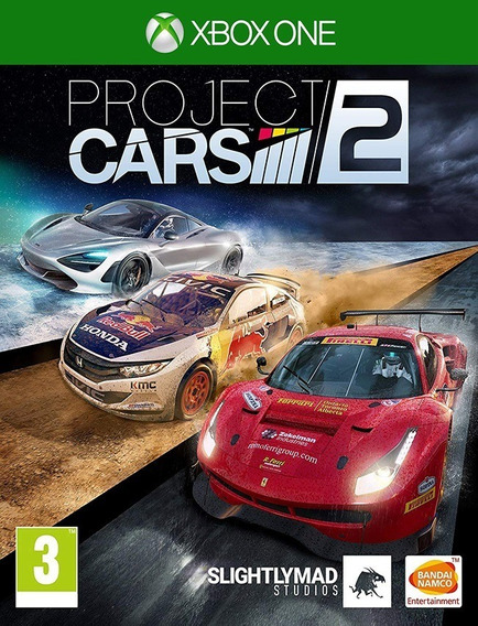 Project Cars 2 Xbox One - 25 Dígitos (envio Flash)