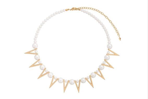 Collar Nueva Colección Marca Nice Perlas