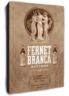Cuadro Publicidades Antiguas Fernet Branca