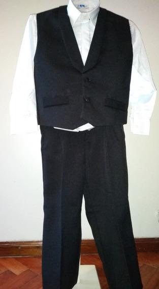 Trajes Chaleco Camisa Y Pantalon Niño