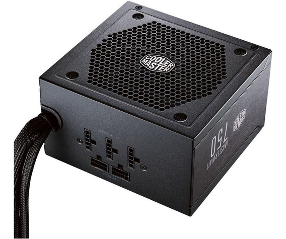 Fonte Atx Masterwatt 750w 80 Plus Bronze Cooler Master