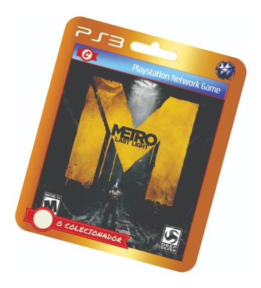 Metro Last Light Em Oferta! (ps3)