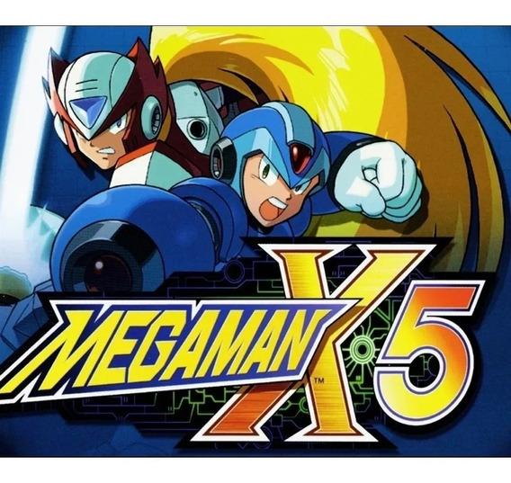 Mega Man X5 Ps3 3 Psn Pronta Entrega Original Jogue Hoje