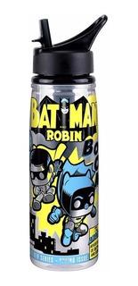 Botella Para Agua De Acrílico Funko Pop Batman Y Robin