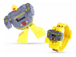Reloj Transformers Niños