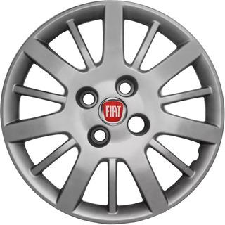 Tasa Rodado 14 Fiat Palio Siena 2008 2009 2010 + Logo