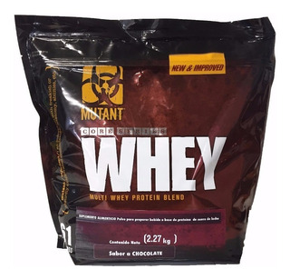 Proteina Mutant Whey 5 Lbs Sabor Triple Fresa