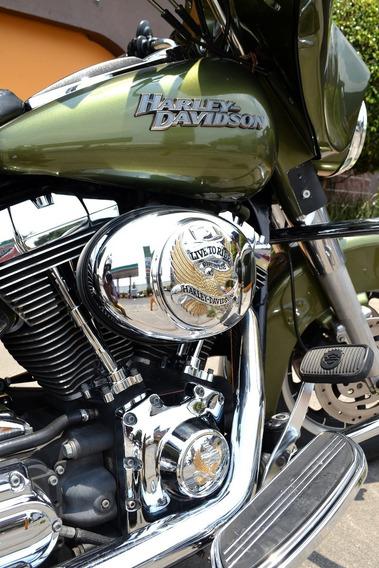 Flamante Street Glide 1450 Harley Davidson Roba Miradas