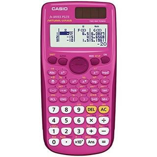 Casio Fx300es Plus Scientific Calculator Pink