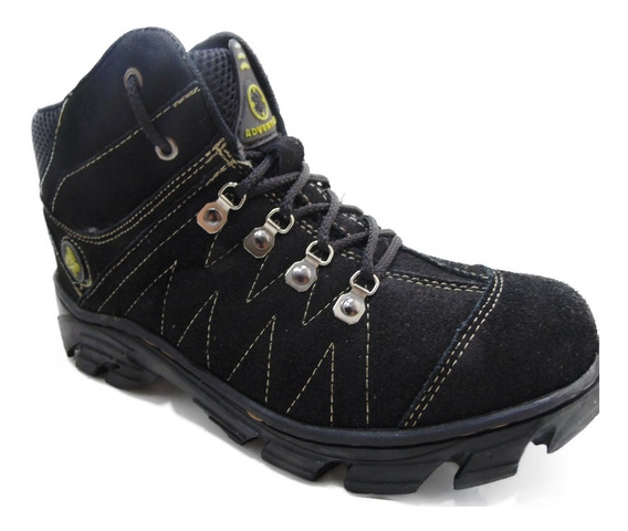 Coturno Bota Masculino Adventure 100%couro Black Friday.