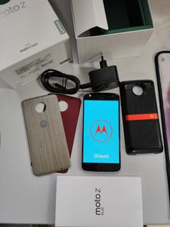 Motorola Moto Z Play 32gb + Moto Snap Jbl Soundboost + Moto