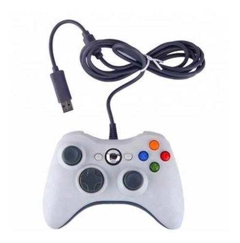 Control Microsoft Para Pc Xbox 360 Con Cable Usb