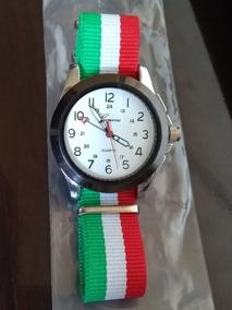 Relógio Branco Pulso Feminino Geneva Tecido Moderno Sport