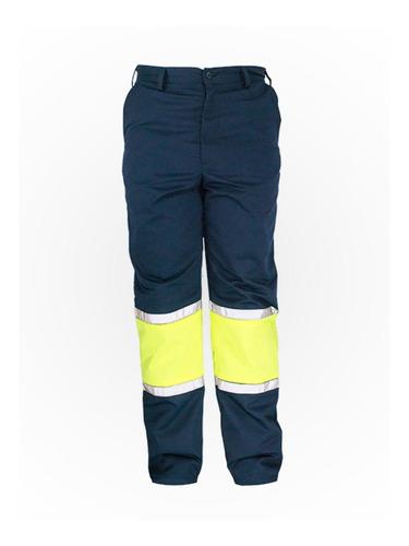 Imagen 1 de 6 de Pantalón Uso Rudo Con Reflejantes  ( Alta Visibilidad )