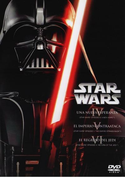 Star Wars Trilogia Episodio 4 5 6 Boxset Peliculas Dvd