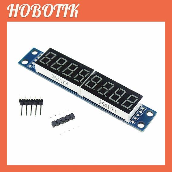 3x Display 8 Dígitos Max7219 Led 7 Segmentos Arduino Pic