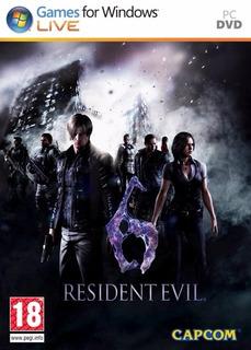 Resident Evil 6 Pc Steam - Original
