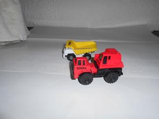 Carrito Construccion Tonka Miniatura 5cm Oferta