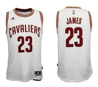 Camisa Cleveland Cavaliers Lebron James Nba Basquete Branca