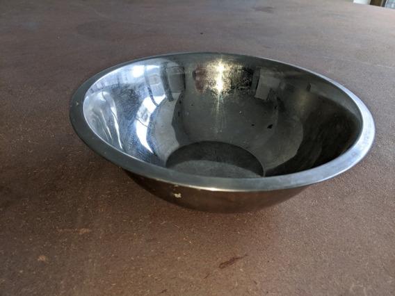 Bowl Acero Inoxidable 24 Cm Diámetro