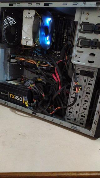 Computador Gamer Montado Ssd, 8gb Ram, Gtx660, Fx-8320e