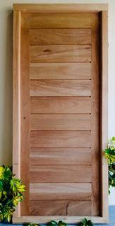 Puerta Entrada Cedro Macizo