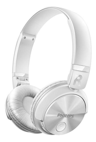Fone De Ouvido Philips Bluetooth Shb3060wt/00 Branco