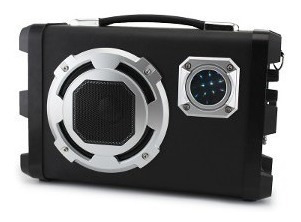 Parlante Karaoke Portátil Bluetooth Usb Sd Led + Microfono