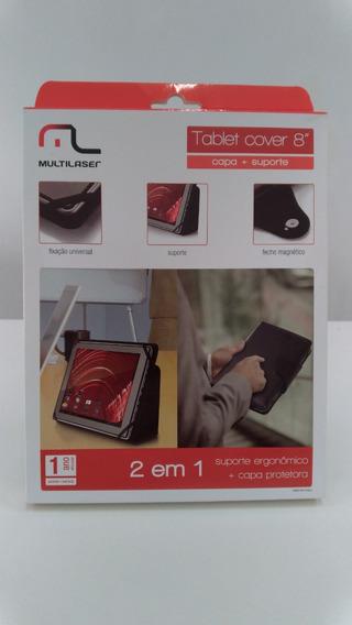 Capa E Suporte Para Tablet De 8 Polegadas Multilaser Bo183