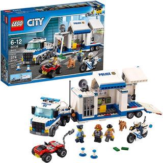 Centro Comando Policiaco Lego City 374 Pzas Policias Juego