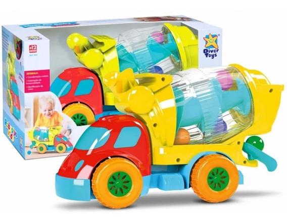 Carro Brinquedo Robustus Kids Betoneira